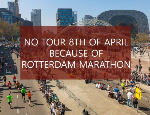 No tour 8th of April (Rotterdam Marathon)