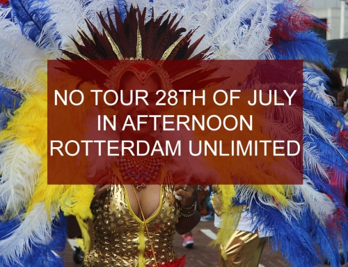 No afternoon tour Saturday 28th of July